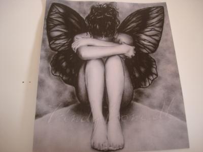 un ange qui pleure des dessins inspir s. Black Bedroom Furniture Sets. Home Design Ideas