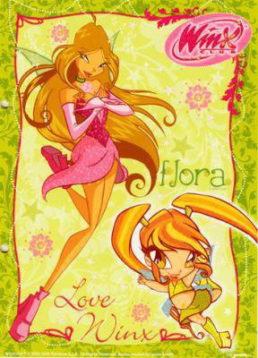 Flora et sa mini fee winx du 57 - Winx mini fee ...